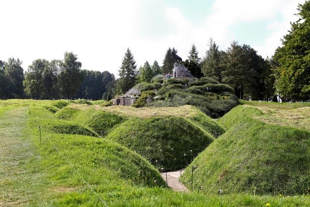 tranches du Parc Terre Neuvien de Beaumont Hamel photos muse compresses